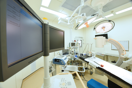 Photo for equipment and medical devices in modern operating room - Royalty Free Image