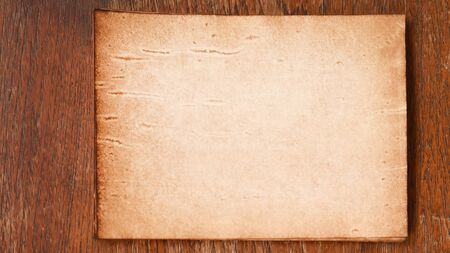 Photo for old paper texture for background - Royalty Free Image