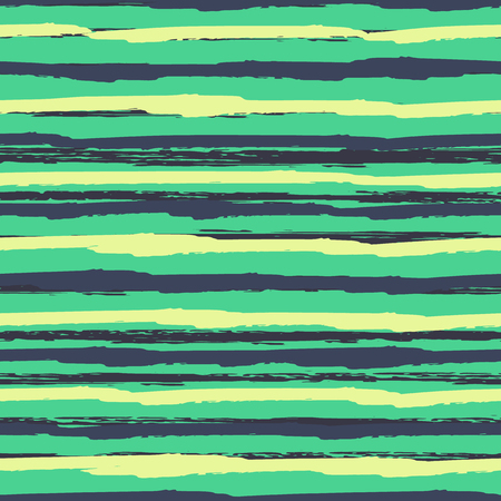 Seamless background of stripes. Vector watercolor. Fashionable hand-drawn lines. Grunge texture. Suitable for textile printing, packaging.