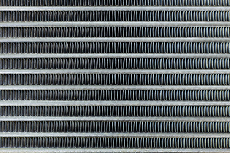 Photo for Air Conditioning Coils car close up texture image. - Royalty Free Image