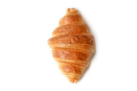 Foto für Croissant on white background - isolated - Lizenzfreies Bild