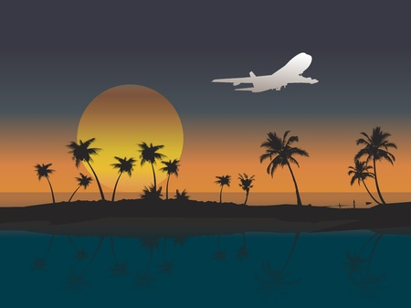Illustration for air, aircraft, airplane - Royalty Free Image