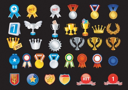 Prizes include medals and other trophies