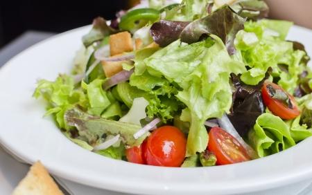 Fresh Caesar salad,Concept ror healthy lifestyle