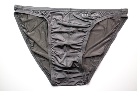 Chiangmai, Thailand - August  18 2018: Product shot of Elle Homme, Men bikini Underwear. Elle Homme in thailand made and sale by I.C.C. International Public Company.
