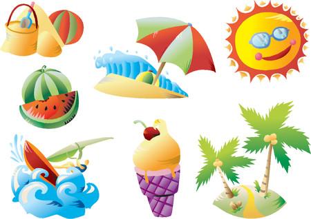 Summer Beach Clip-art