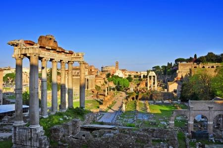 Roman Ruins Sunrise