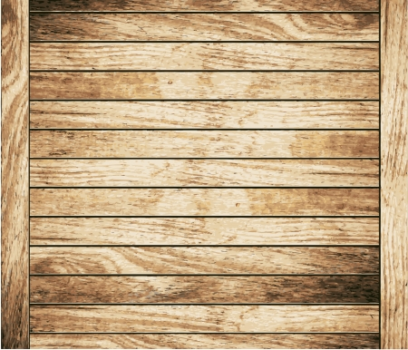 Wood plank brown texture background, illustration