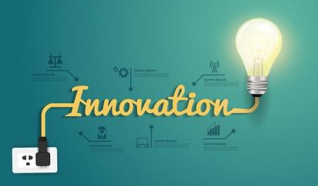Illustration pour Innovation concept modern design template - image libre de droit