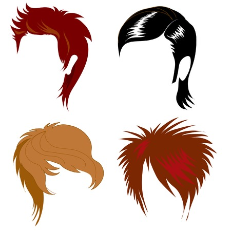 Set of hair styling for man
