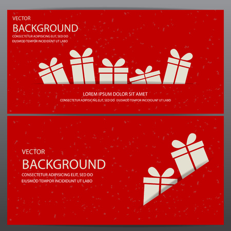 Illustration pour christmas and new year gift voucher certificate coupon template. can be use for business shopping card, customer sale and promotion, layout, banner, web design. vector  illustration - image libre de droit