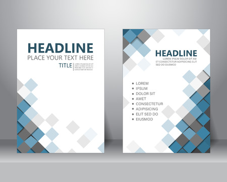 formal business brochure flyer design layout template in A4 size. can be use for poster, banner, graphic element, leaflet and background, vector illustration