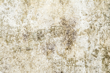 Photo pour gray yellow texture of old antique wall, destroyed layer of concrete wall plaster, dark grunge abstract background - image libre de droit