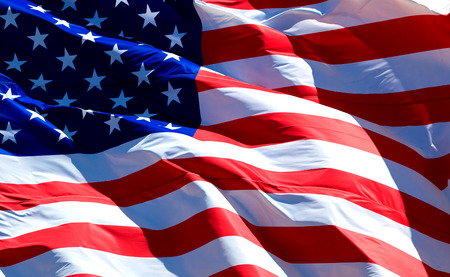 Photo pour Flag of the USA - image libre de droit