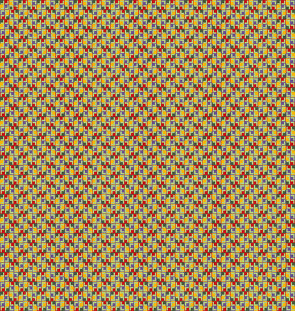 Abstract mosaic background with a small, yellowish textured pattern or design