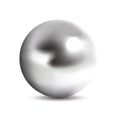 Photorealistic chrome ball