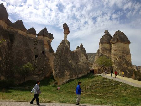 Traveling place in Cappadocia Turkey
