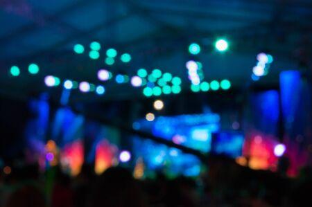 Photo pour light Concert - image libre de droit