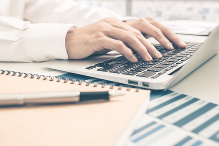 Man Analysis Business Report. Accounting