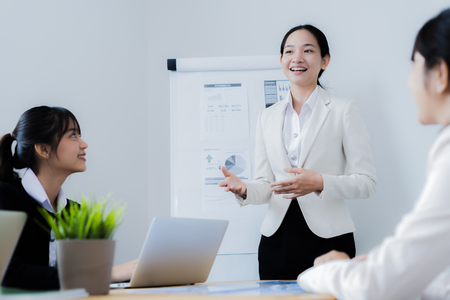 Photo for Business People Talking Discussing Concept - Royalty Free Image