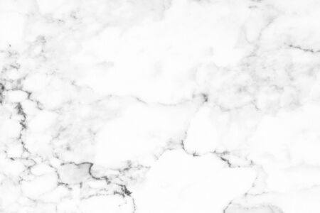 Photo for White marble texture with natural pattern for background or design art work. - Royalty Free Image
