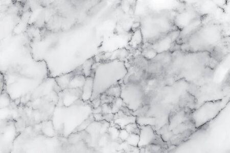 Foto de White marble texture with natural pattern for background, design or artwork - Imagen libre de derechos