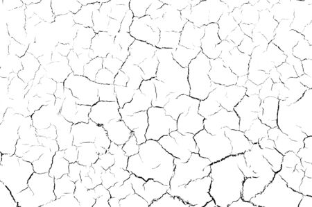Photo pour The cracks texture white and black cracked, background of white, For design and advertising - image libre de droit