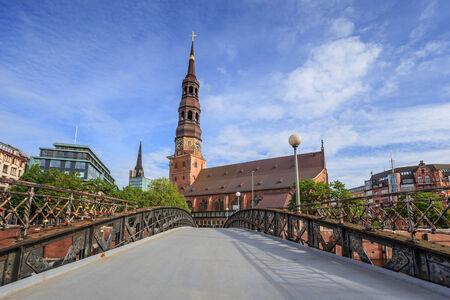 Jungfern bridge, Hamburg, Germany