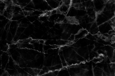 Photo for Black marble patterned texture background for design. - Royalty Free Image