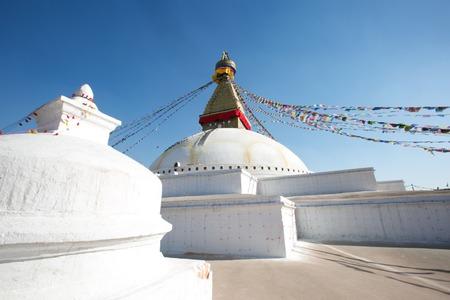 Boudhanath Monastery Stupa