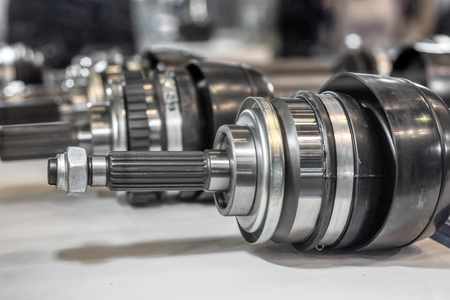 Photo for CV joint, one of the most important parts of the automotive suspension - Royalty Free Image