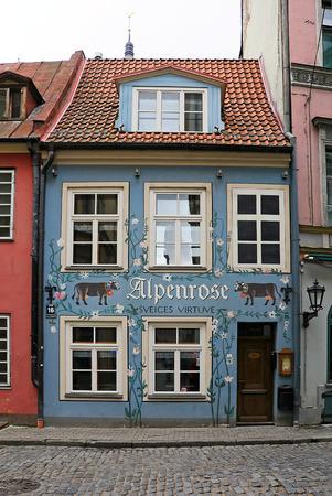 Restaurant Alpenrose, Riga, Latvia