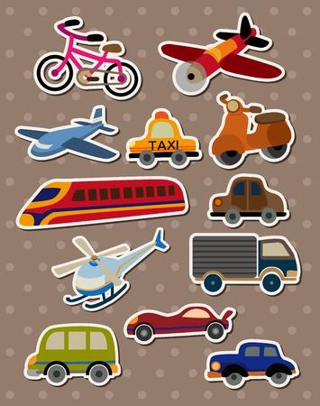 Foto de Transport stickers - Imagen libre de derechos