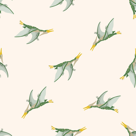Green Pterodactyl Pattern