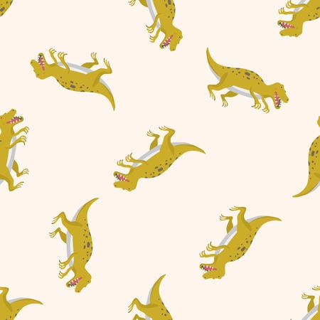 Yellow T-Rex Pattern