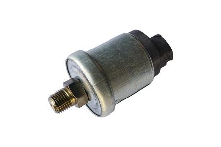 Photo pour Oil pressure switch car. Isolate on white - image libre de droit