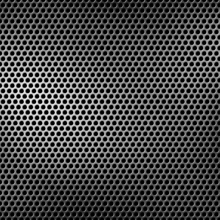 perforated metal background