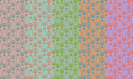 Retro seamless pattern with chain. Simple colorful vector ornament for textile, prints, wallpaper, wrapping paper, web etc. Available in EPS