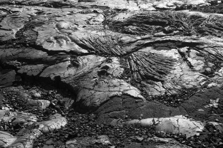 Interesting lava patterns at Volcanoes National Park, Hawaii.