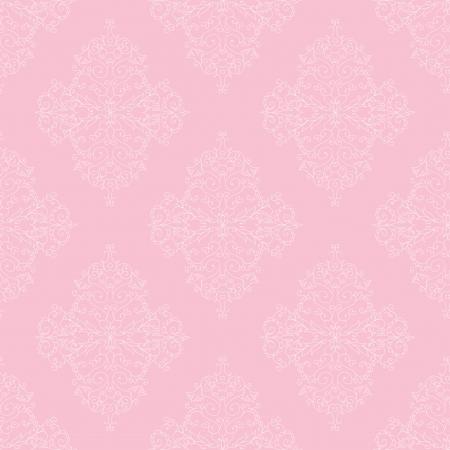 Pink seamless royal pattern