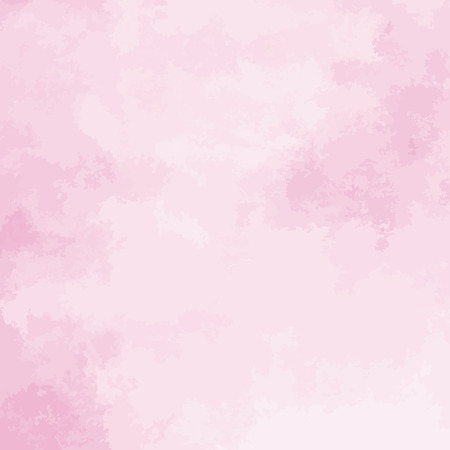 Ilustración de pink watercolor texture background, hand painted vector illustration - Imagen libre de derechos