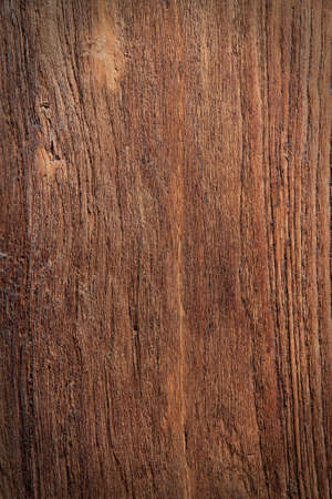 Old wood background dark brown .