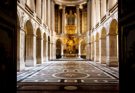 church in Versailles palace, France