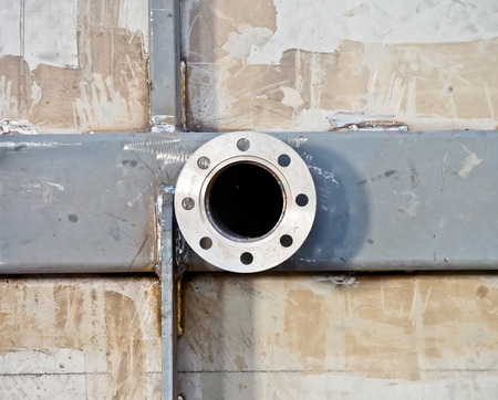 Photo pour steel flange - image libre de droit