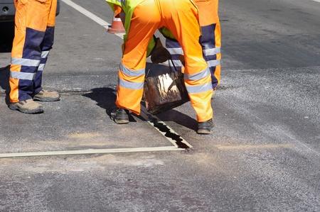 Street repairing works