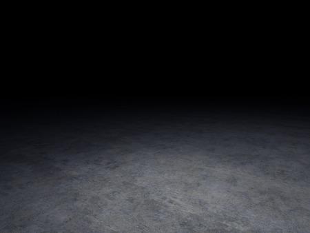 Photo pour concrete floor with dark background - image libre de droit