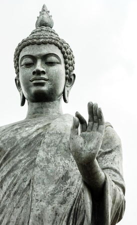 Statue of Buddha at peace