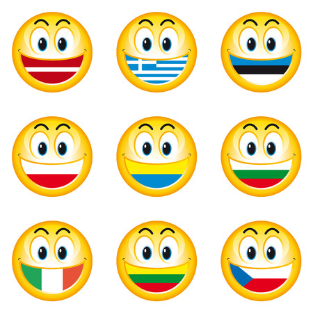 Smileys Flags 3