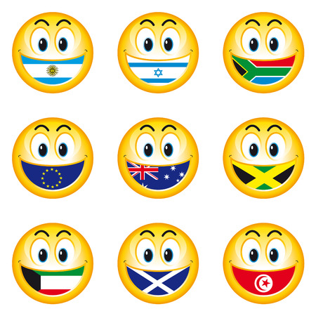 Smileys Flags 5