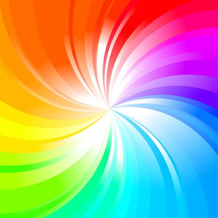 Illustration pour Multicolored abstract rainbow background  - image libre de droit